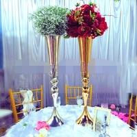 2017 wedding flower decoration home furnishing flower stand wedding T stage table centerpiece road lead flower vase display 88cm