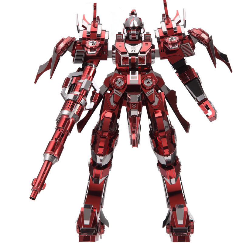 2017 New 3D Metal Puzzle Red Thunder Edition Model Kits P085-RSK DIY 3D Laser Cut Assemble Models Toy For Audit diy piececool 3d metal model toy dinosaur rock p062s orignal design puzzle 3d metal educational models brinquedos kids toys