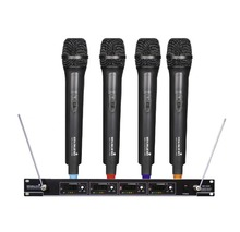 STARAUDIO SMV-4000A Skilled four Channel VHF Wi-fi Handheld Microphone System