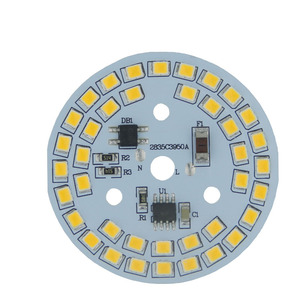 Dimmable led bulb lamps integr