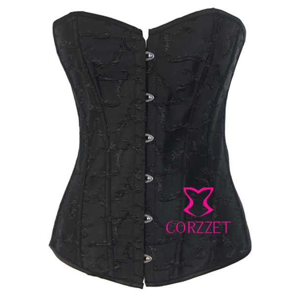New Back Dobby Sexy Overbust Corpete Corseletes Corselet Women   Bustiers   &   Corsets   Top For Body Shaping, Slimming Waist Trainer