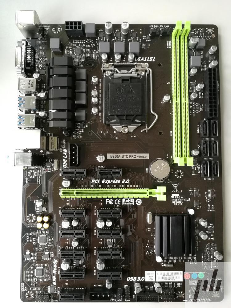 B250A BTC PRO In Box 12PCIE For B250A BTC 1151 DDR4 Mining Board Alternative TB250 BTC