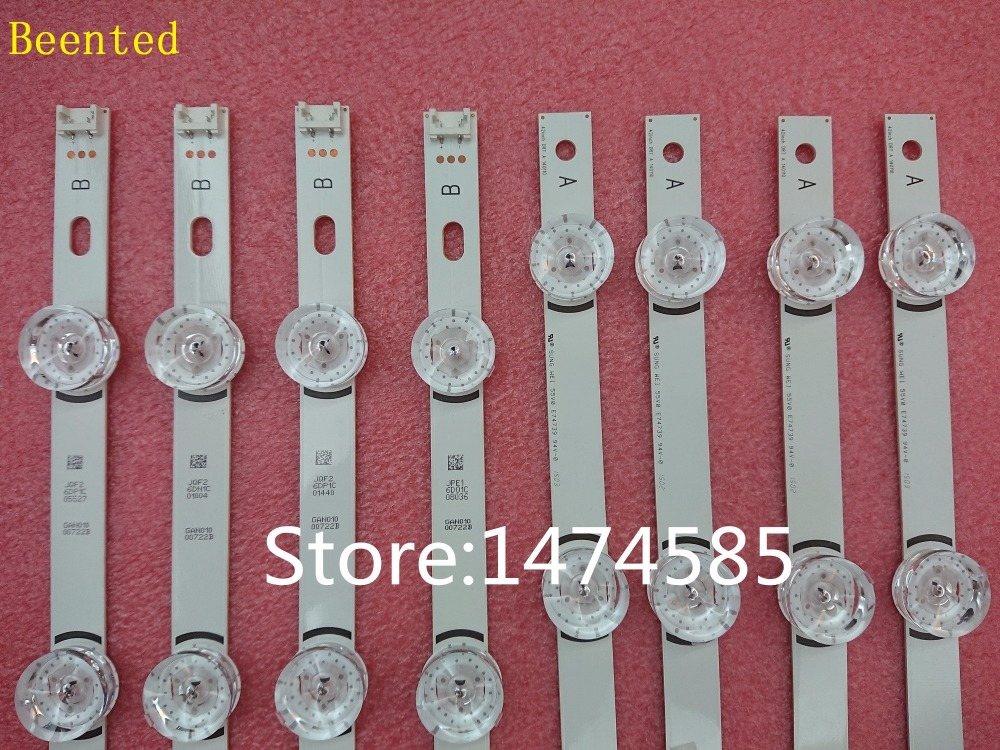 8 Pieces 100 New original LED Backligh strip For LG TV 42LY320C LC420DUE INNOTEK DRT3 0