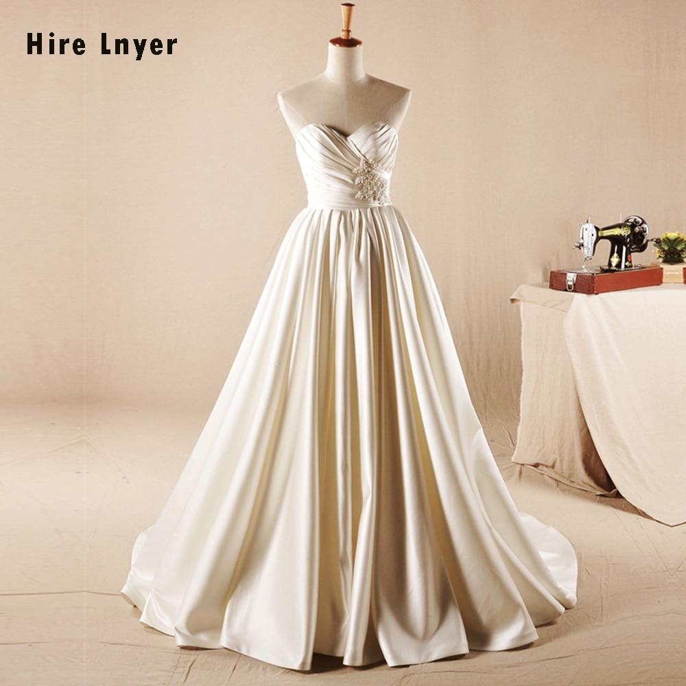 HIRE LNYER Vestido Noiva 2019 New Arrive Gown Bridal Shiny