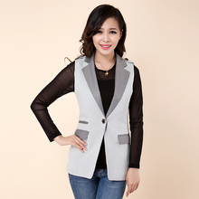 Hot 2016 Smoky Gray Glen Check Long Style women's vest Girls Epaulet One Button Vests Female Sleeveless Waistcoat Women Clothing