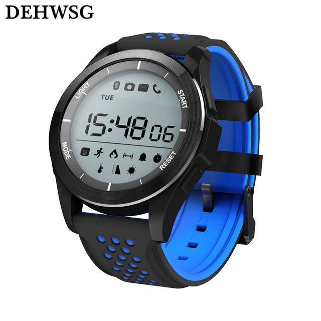IP68 waterproof Smart watch no.1 f3  call reminder Hiking Sports Smart bracelet Fitness Tracker Wearable Devices For Android iOS
