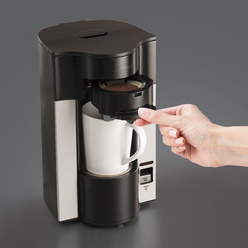DMWD 400ML Mini American Coffee Machine Automatic Drip Coffee Maker Single Cup Coffee Maker for Home And Office 220V coffee maker uses the american drizzle to make tea drinking machine