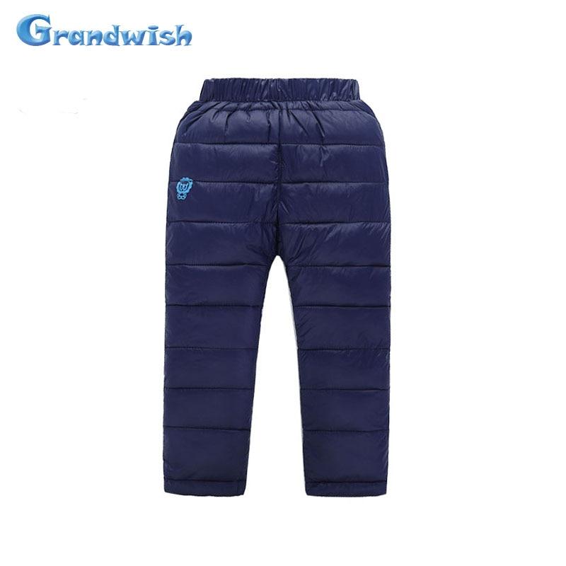 Grandwish Winter Kids Boys Children Girls Warm Pants