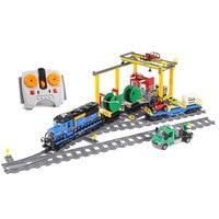 Lepin 02008 Genuine City Series The Cargo Train Set LegoING 60052 Building Blocks Bricks Educationa Toys