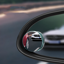 купить A pair HD 360 Degree Wide Angle Adjustable Car Rear View Convex Mirror Auto Rearview Mirror Vehicle Blind Spot Rimless Mirrors дешево