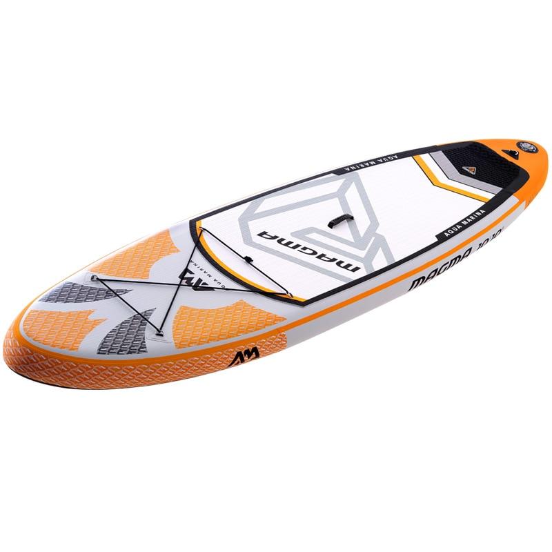 330*81*15 cm gonflable planche de surf stand up paddle conseil AQUA MARINA MAGMA pédale contrôle conseil sup sac laisse paddle a01005 - 4