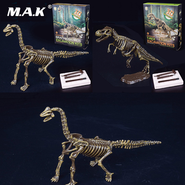 dinosaur archaeological excavation toy 3d skeleton diy children kids