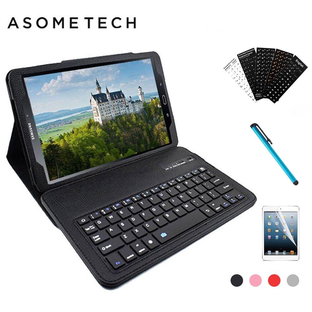 Sans fil Bluetooth Clavier Cas Pour Samsung Galaxy Tab Un 10.1 T580 T585 10.1