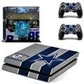 Dallas Cowboys Наклейку Кожи Наклейки для PlayStation4 PS4 Консоли и 2 контроллера скины