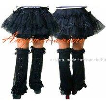 Free Shipping Gothic Lolita Punk Skirt Legging Dress Cosplay Costume Tailor-made