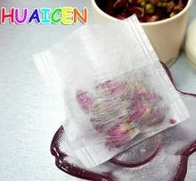 500pcs lot Environmental Natural Corn Fiber Folding font b Tea b font Bag PLA Biodegraded font
