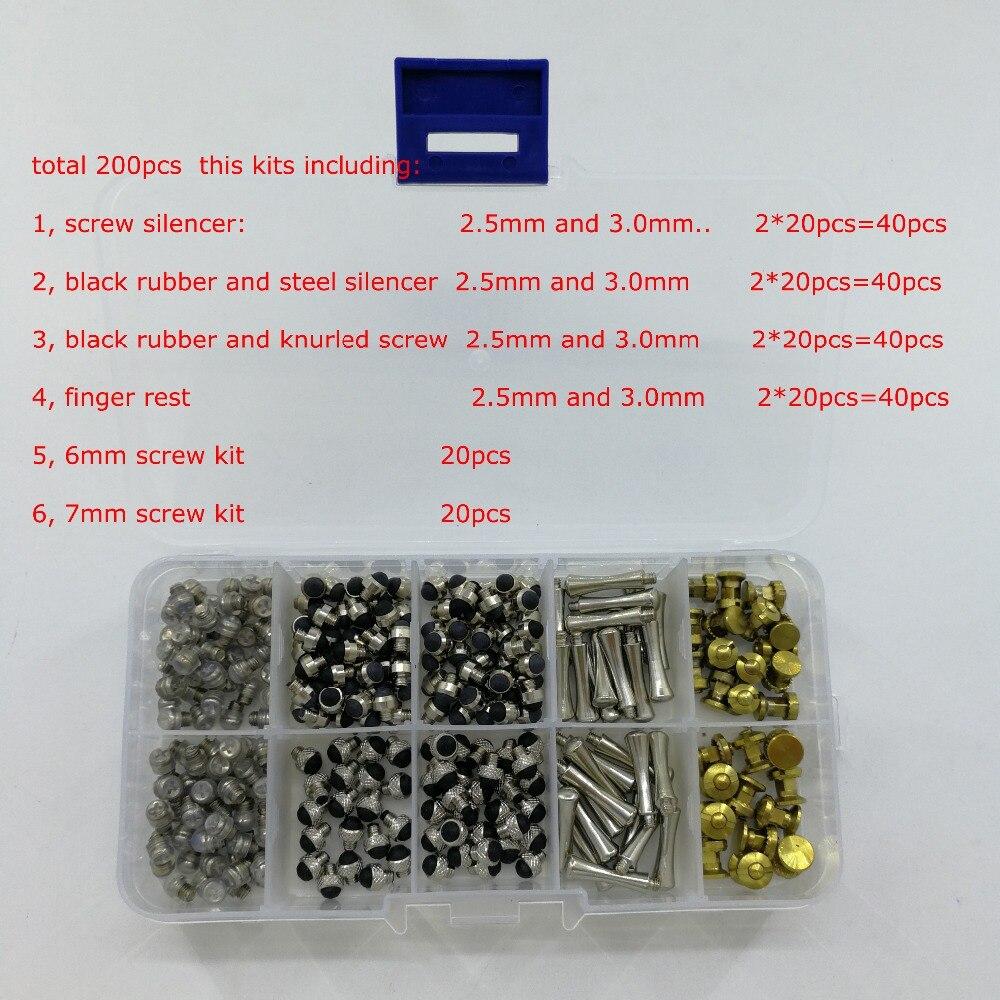 200 pz/lotto in Scatola Scissor Kit di Riparazione di Parrucchiere Scissor Accessorio-in Forbici per cani da Casa e giardino su  Gruppo 1
