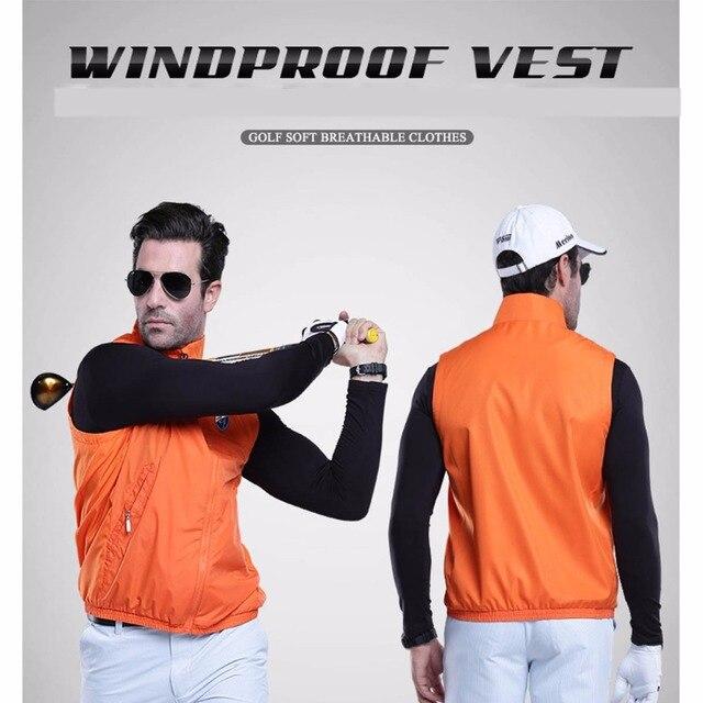 PGM Куртки ветровка жилет Водонепроницаемый жилет Демисезонный свет Велоспорт без рукавов куртка Открытый Спортивная