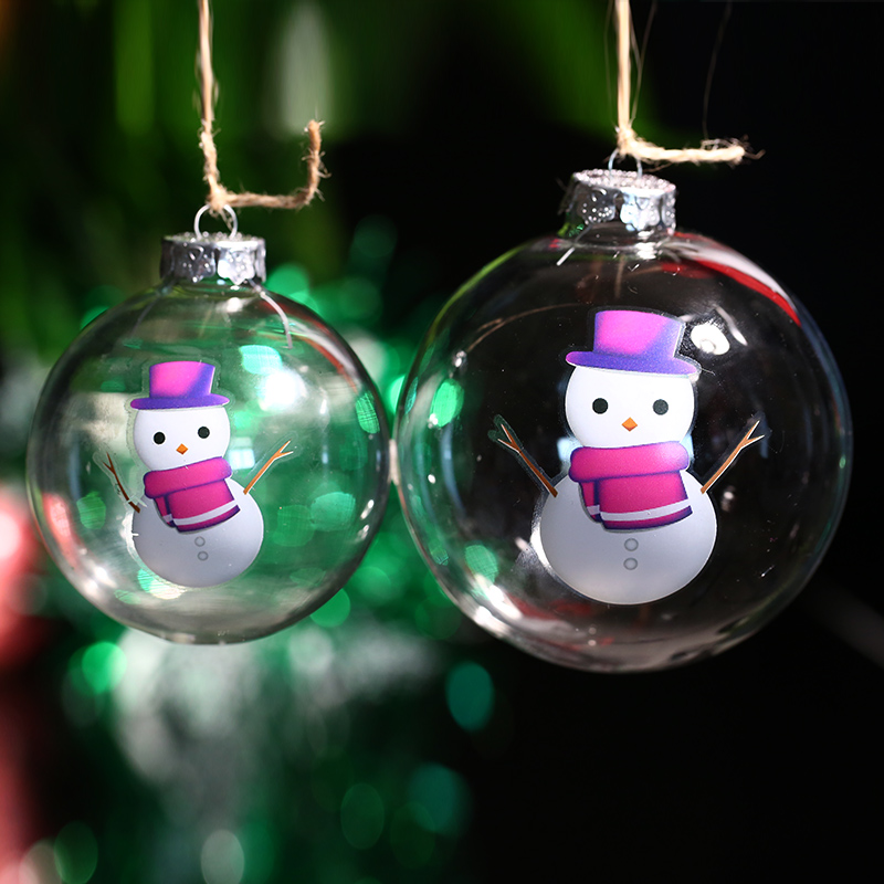 Paintable Christmas Ornaments