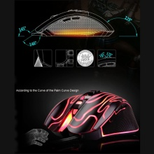 Professional LED Gaming Mouse Backlit 6 Button Ajustable 4200DPI Wired Optical Mice USB Computer Mouse Gamer for PC Laptop