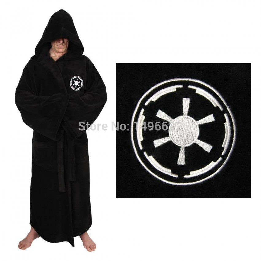 1f81996d1e Star Wars Bathrobe Galactic Empire Sith Jedi Knight Bath Robe Bathing Suit  Cosplay Costumes For Men-in Movie   TV costumes from Novelty   Special Use  on ...