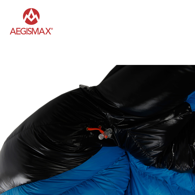 AEGISMAX D Duck Down Sleeping Bag Ultralight Mummy 4