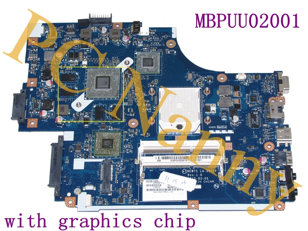 For Acer Aspire 5251 5551 5552 MBPUU02001 NEW75 LA-5911P AMD FS1 Socket with Graphics Chip