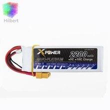 Hilbert 1pcs 2200Mah 11.1V 3S 30C Max 35c Lithium Li-po Battery XT60 T Plug For RC Helicopter Qudcopter Drone Truck Car CX-20