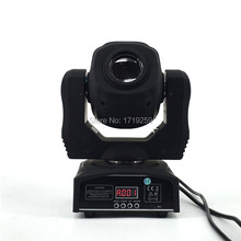 2 pcs/lot LED 60W Moving Head LED Spot 1x60W White Color led Color/Gobo Wheel Built In DMX 9/11 Channels Fast Shipping