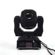 2 шт./лот 60 Вт Перемещение Головы LED Spot 1×60 Вт Белый цвет Цвет led/Гобо Встроенный DMX 9/11 Канала Быстро доставка