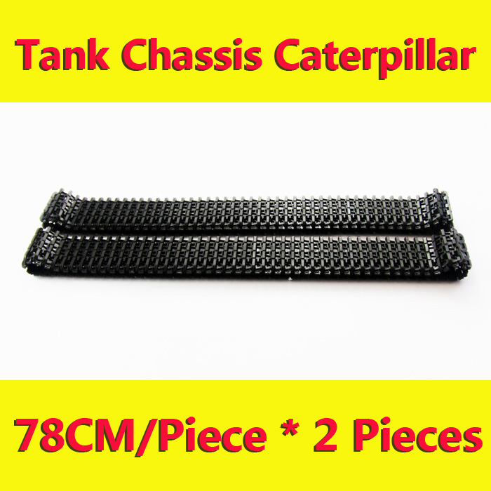 doit 2pcs/lot Plastic Caterpillar Chain Track Pedrail Thread Tracker Wheel for Tank Crawler Chassis DIY RC Toy Remote UNO R3 Kit y 2 diy plastic y shaped connector three way pipe for r c toy transparent 2 pcs