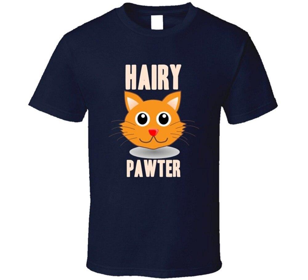 Newest 2018 Fashion Men'S Hairy Pawter Gift O-Neck Short-Sleeve Shirts