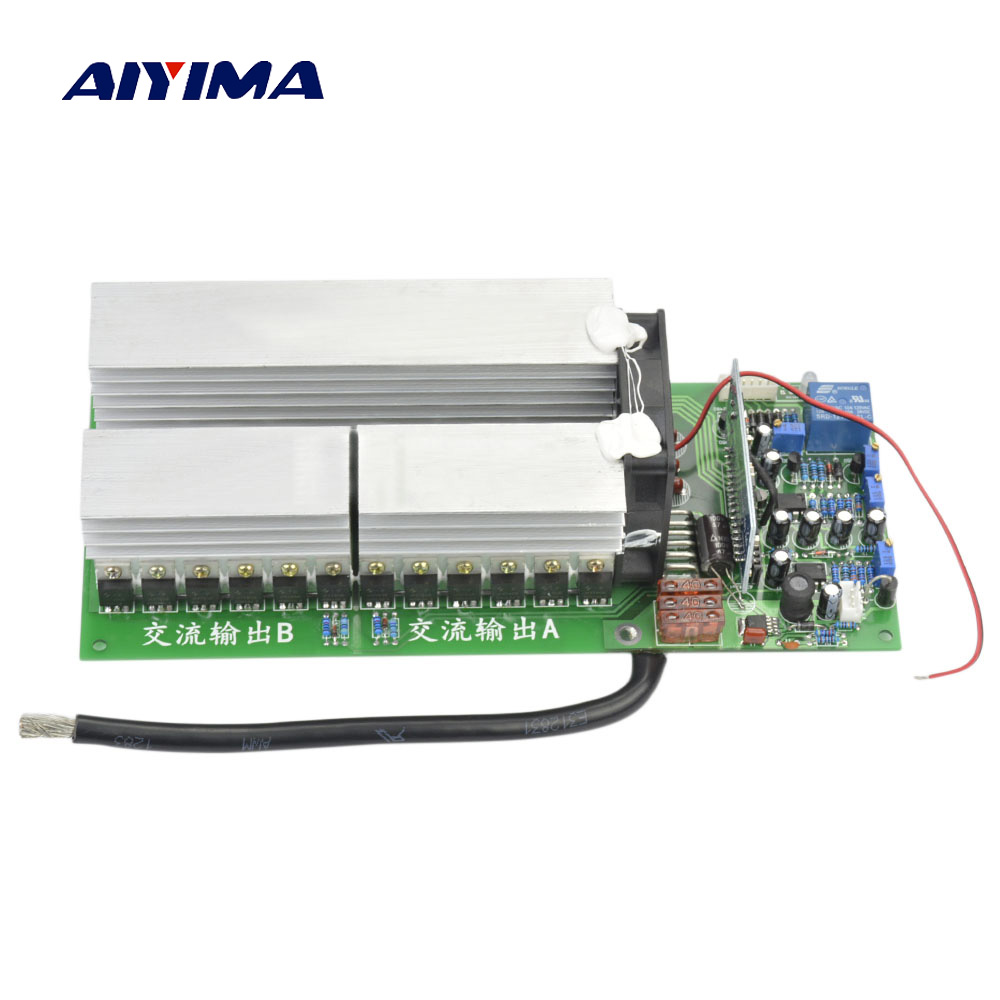 AIYIMA 1Pc Pure Sine Wave Inverter Power Frequency Inverter For Motor 24V 36V 48V 60V1000W 2000W