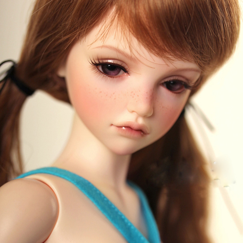Free Shipping 1/4 BJD Doll BJD/SD Beautiful Fashion Kassias Doll Include Eyes For Baby Girl Gift