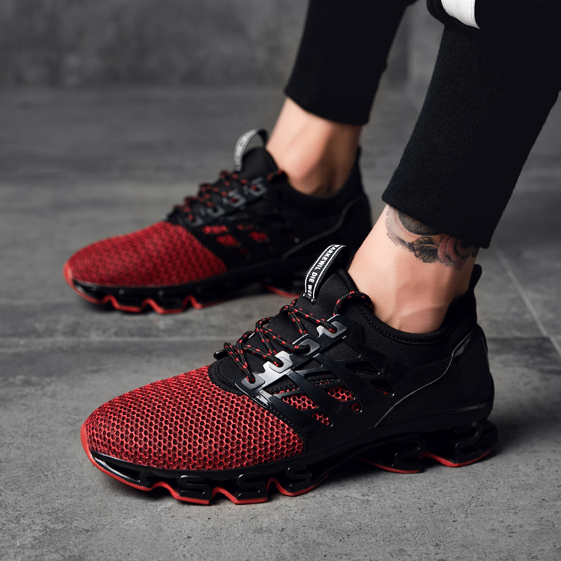 Super Cool Breathable Running Shoes Men Sneakers Bounce Autumn Outdoor Sport Shoes Professional Brand Training Shoes