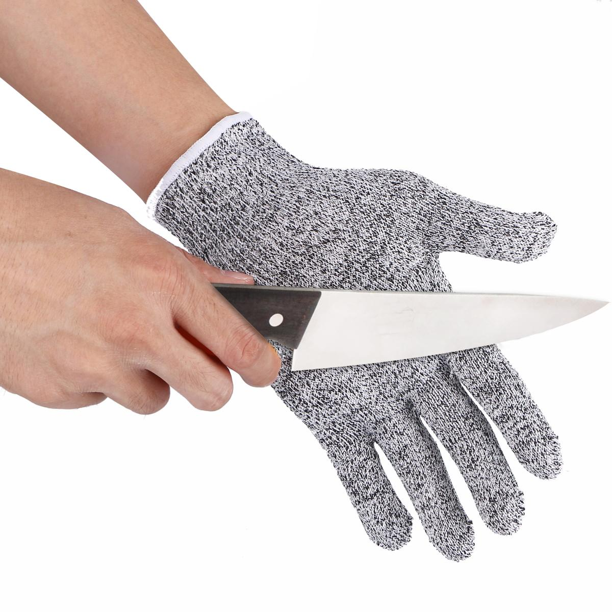 NEW Safurance Resistant Gloves Kitchen Cut Food Protection High Performance 5 Level Protection Workplace Safety Glove