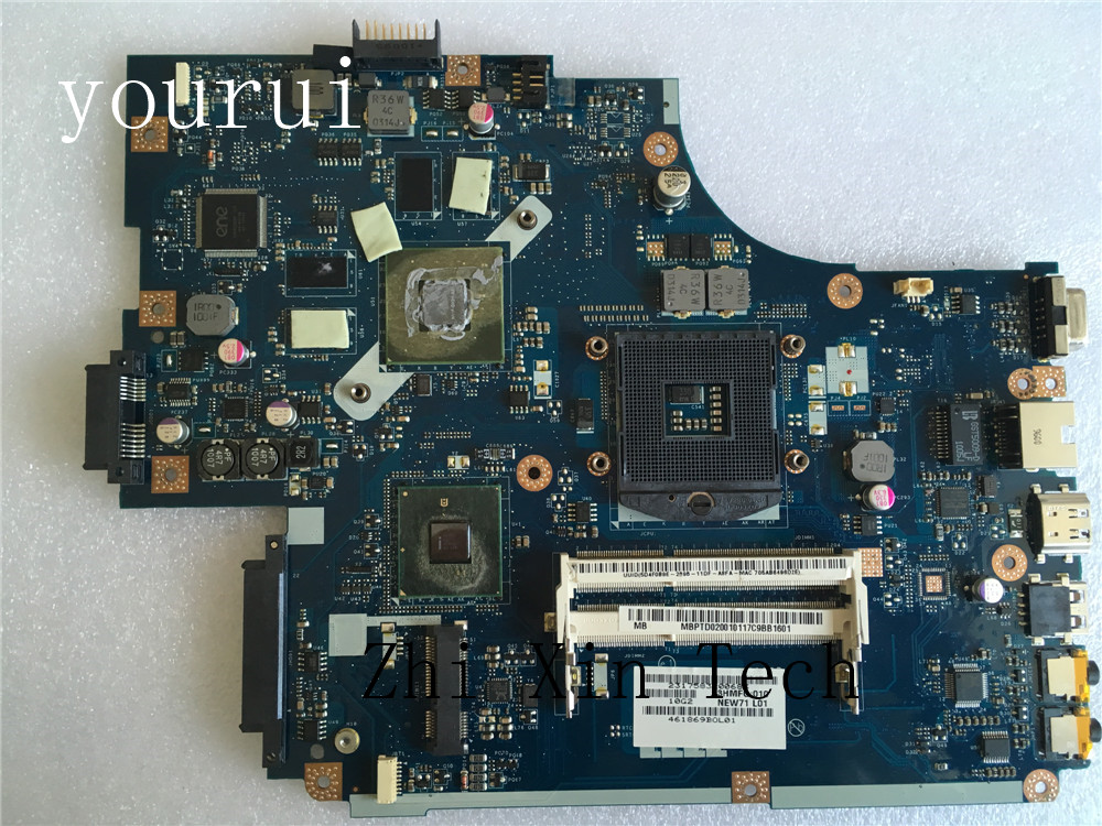yourui High quality For Acer aspire 5741 5741G 5742G Laptop motherboard MBPTD02001 MB.PTD02.001 NEW71 LA-5893P DDR3 Tested