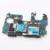 100% original europa versión 16g desbloqueado placa base placa base para samsung galaxy s4 i9505 con la viruta