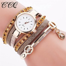 CCQ Model Style Watch Informal Ladies Bracelet Quartz Wrist Watches Reward Relogio Feminino C72