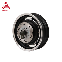 QS 12inch 1000W 205 40H V2 Brushless Moped DC Electric Scooter In Wheel Hub Motor
