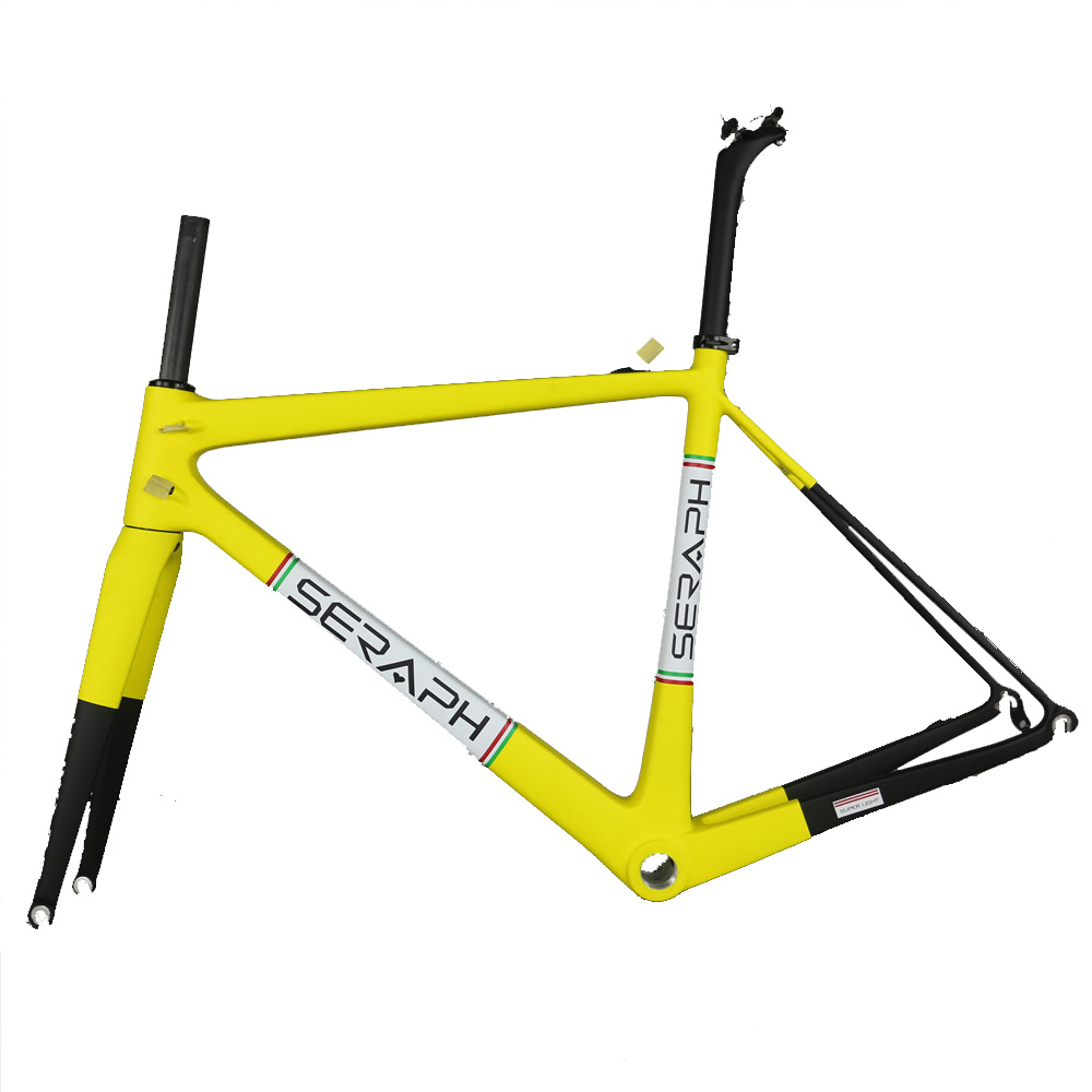 Chinese Made SERAPH High Quality Carbon Fiber Frame Can Accept Custom Paint FM686