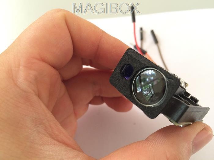 Sensorë me distancë lazer 80m me precizion të lartë 1 mm alarmi / sensori i modulit të gjetësit të intervalit