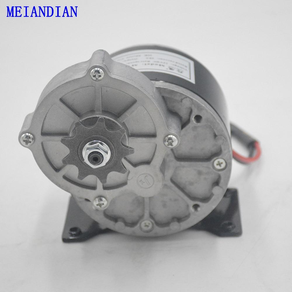12 V 24 V 250 W Pinsel DC Getriebe Motor Elektrische Fahrrad Motor MTB Bike Ebike Gebürstet Motor Elektrische Fahrrad zubehör