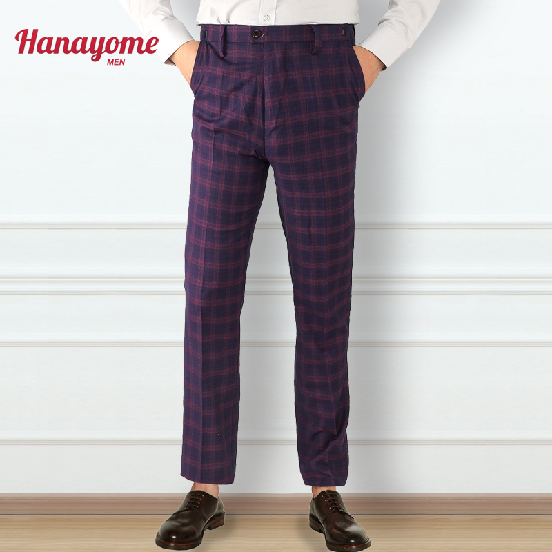 Online Buy Wholesale purple plaid pants from China purple plaid ...