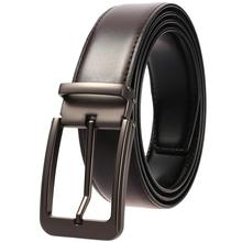 Genuine Leather Belt Men High Quality Luxury Brand Famous Designer Strap Male For Jeans Pin Buckle Male Belts Ceinture Homme