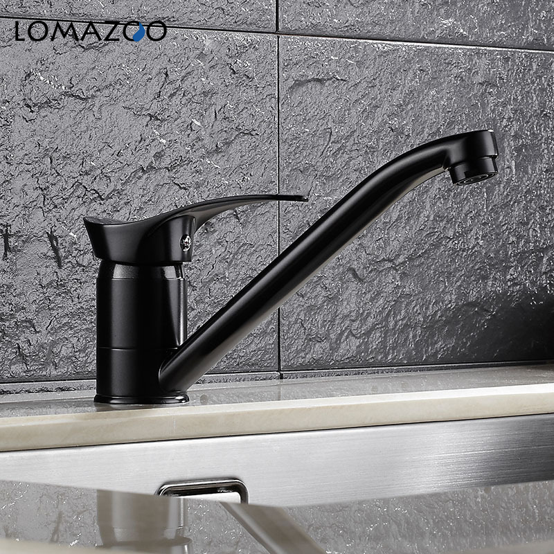 LOMAZOO Kitchen Faucet Bathroom Sink Faucet  Rotatable Waterfall Faucet Single Handle Brass Rotate mixerLOMAZOO Kitchen Faucet Bathroom Sink Faucet  Rotatable Waterfall Faucet Single Handle Brass Rotate mixer