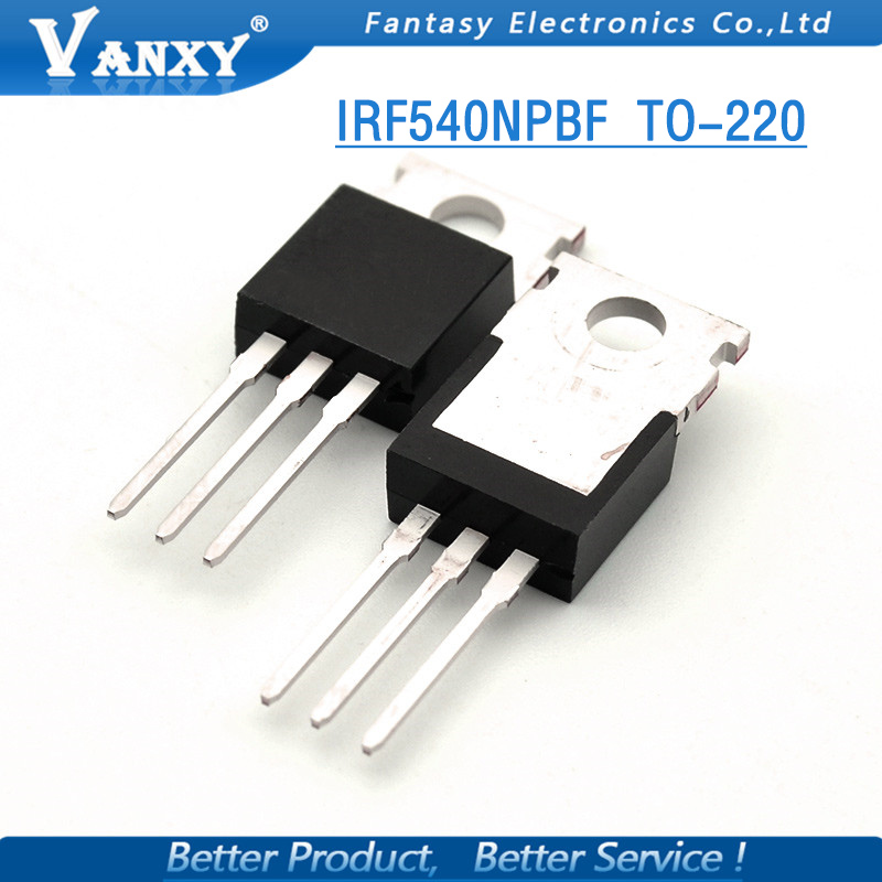 Image 3 - 10PCS IRF540N TO 220 IRF540NPBF TO220 IRF540 IR540 new and  original IC-in Integrated Circuits from Electronic Components & Supplies