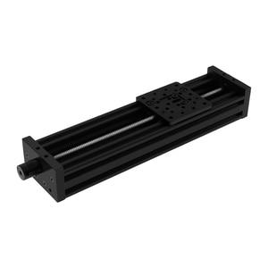 Image 2 - 3d 프린터 Openbuilds Z 축 리드 스크류 T8 Z 축 Diy C 빔 CNC 슬라이딩 테이블 150mm 200mm 250mm 선형 액추에이터 번들 키트