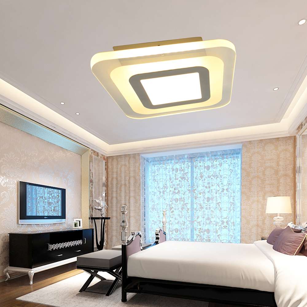 Ecolight Moderne Led Plafonnier Plafond Lampe Applique Murale Pour