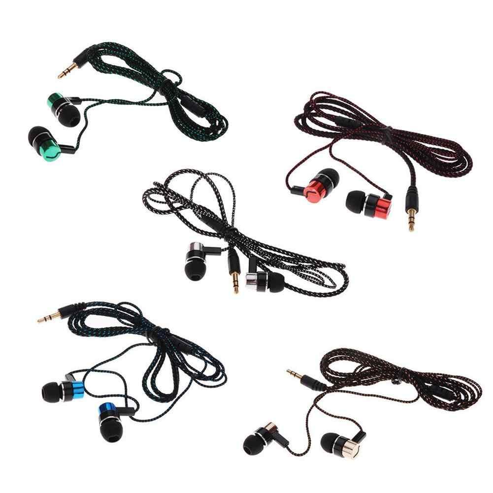 スポーツイヤホンなしマイク 3.5 ミリメートルインイヤーステレオイヤフォンコンピュータ携帯電話 MP3 音楽 D30 Jan12